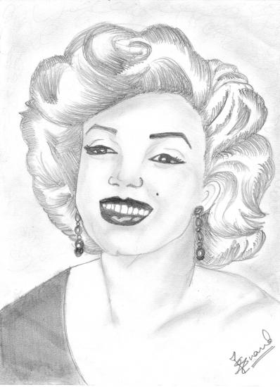 Marilyn Monroe por rvsa17